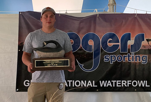 Robbie Iverson 2019 Grand National Open Goose Calling Champion